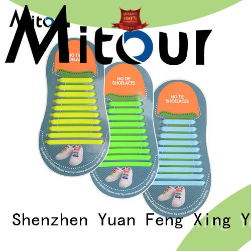 Mitour Silicone Products no tie silicone shoelaces for child
