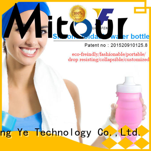 Mitour Silicone Products portable silicone squeeze bottle bulk production for children