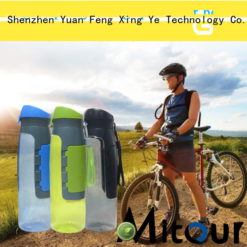 Mitour Silicone Products folding kids glass water bottle inquire now for water storage
