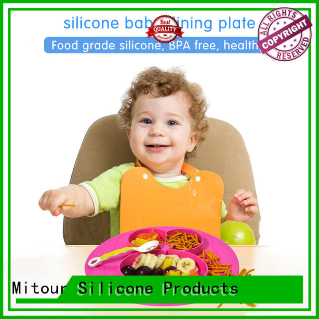silicone placemat plate silicone for children Mitour Silicone Products