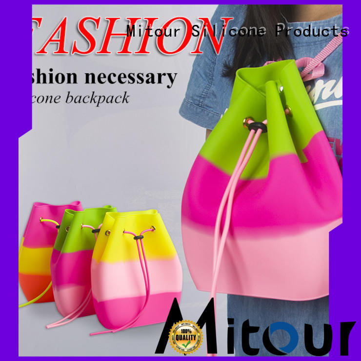 collapsible silicone handbag factory for boys