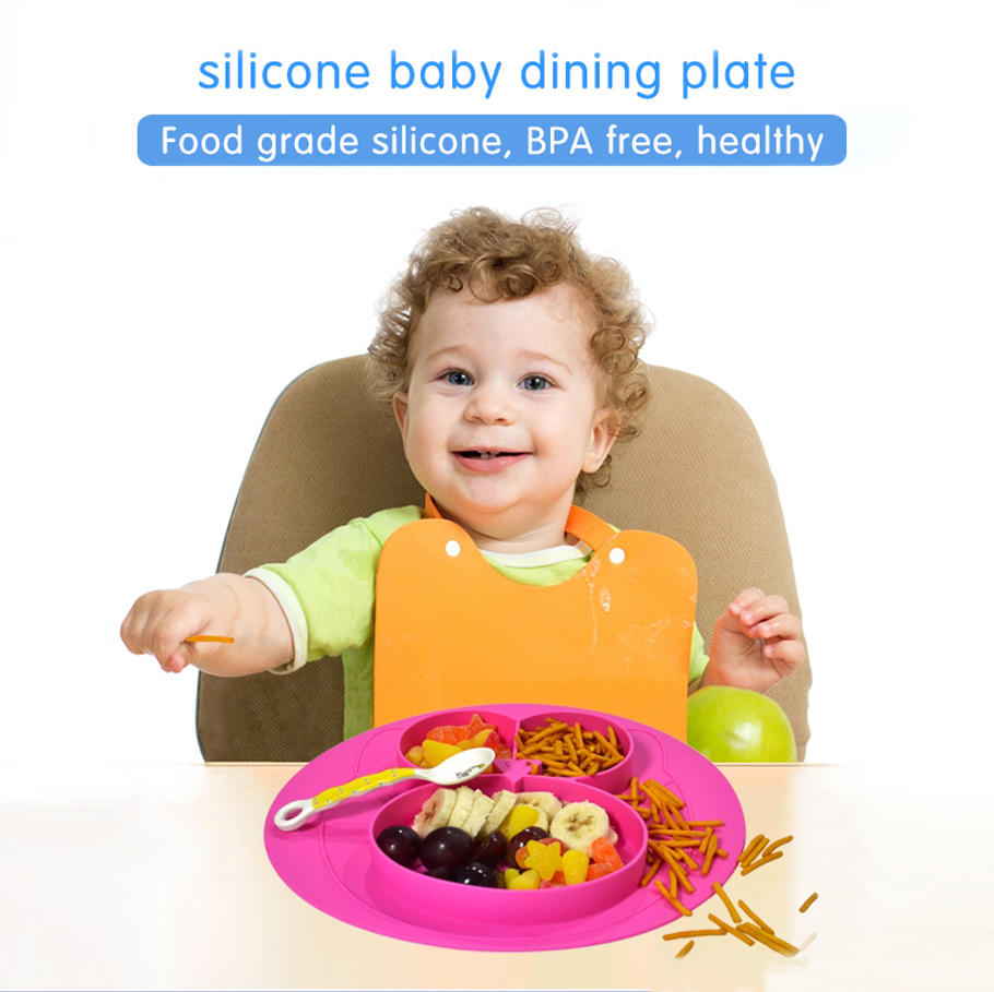 silicone silicone placemat for babies bulk production for children Mitour Silicone Products-1