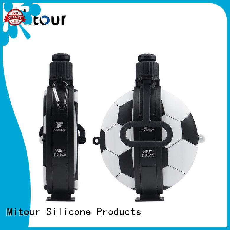 Mitour Silicone Products foldable smart water bottle sizes bulk production for water storage