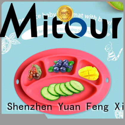 Mitour Silicone Products hot-sale non slip placemats box for children