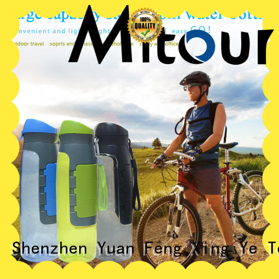 Mitour Silicone Products silicone water bottle bulk production for water storage