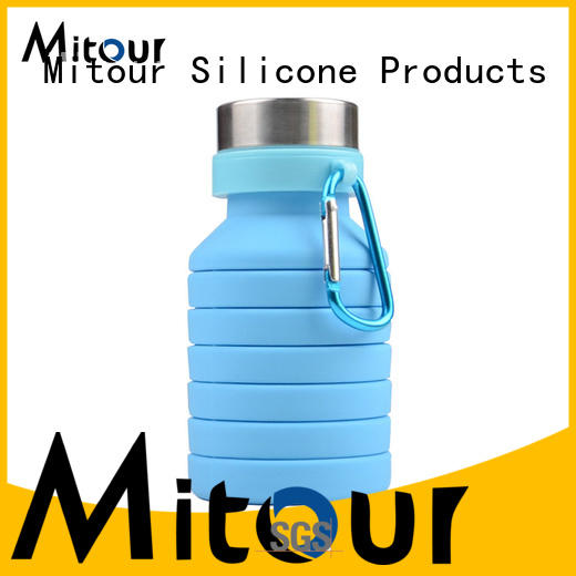 Top folding bottle silicone for children