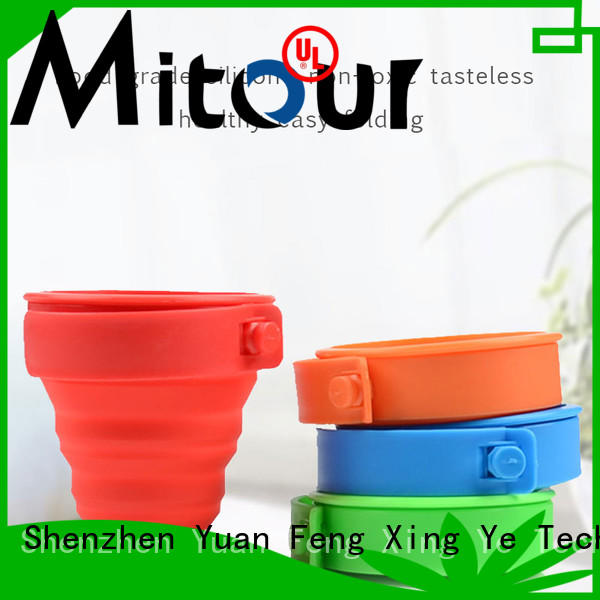 Mitour Silicone Products foldable silicone bottle bulk production for children