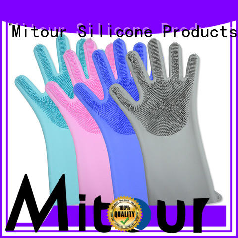high-end silicone oven gloves gloves OEM for indoor cleaning