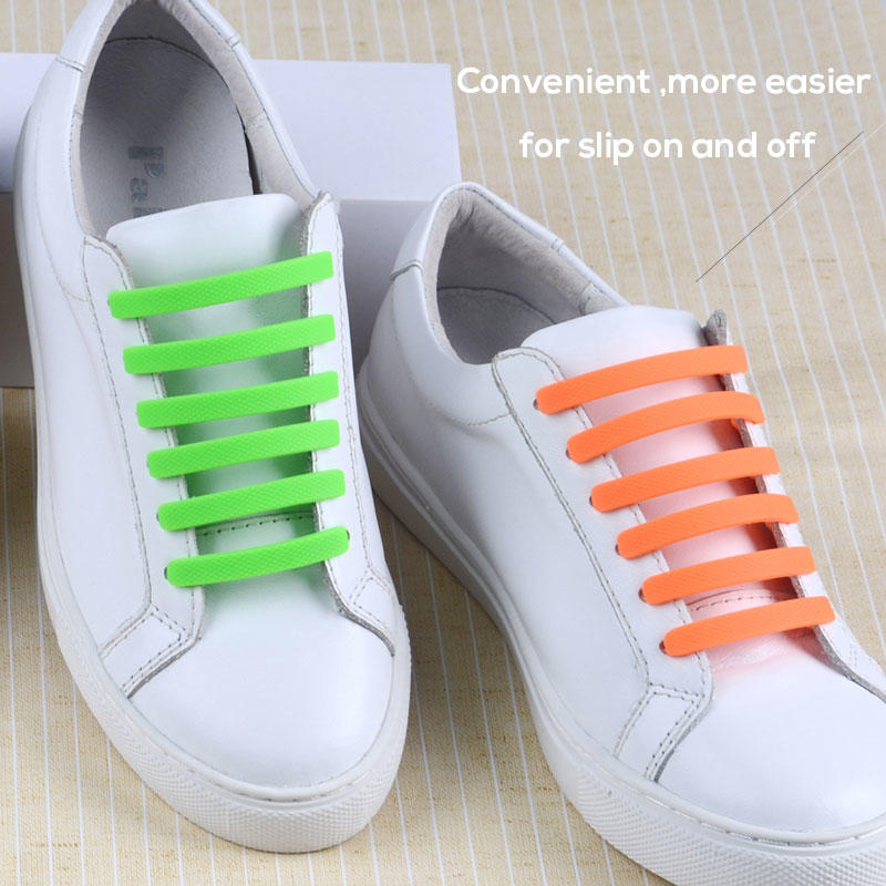 bulk no tie elastic silicone shoelace for child-1