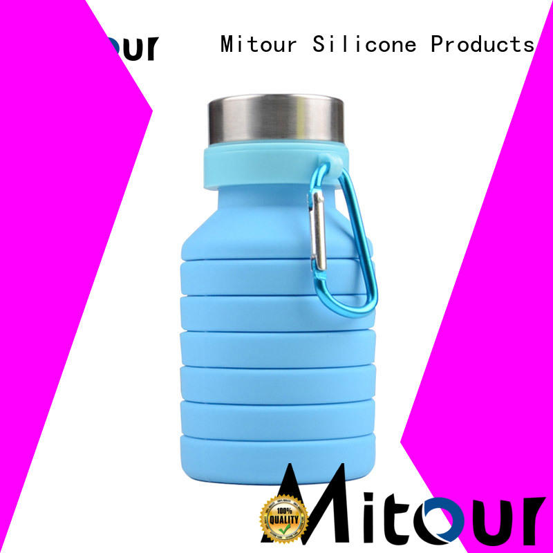 collapsible silicone milk bottle for children