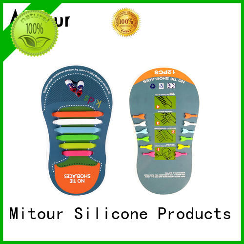 silicone laces no tie for shoes Mitour Silicone Products