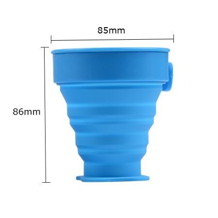 Mitour Silicone Products collapsible silicone sleeve bottle for water storage-2