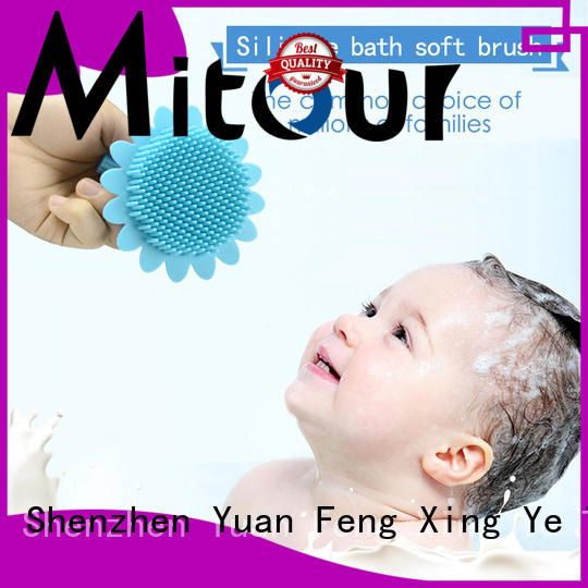 Mitour Silicone Products functional silicone brush manufacturer for shower