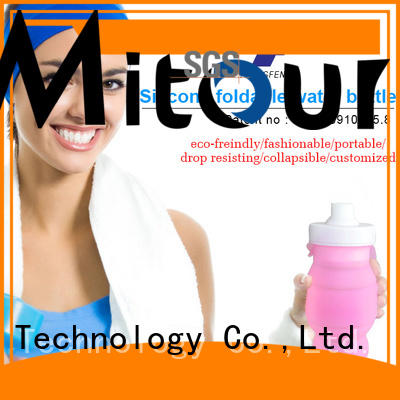 Mitour Silicone Products football silicone sleeve bottle for wholesale for water storage