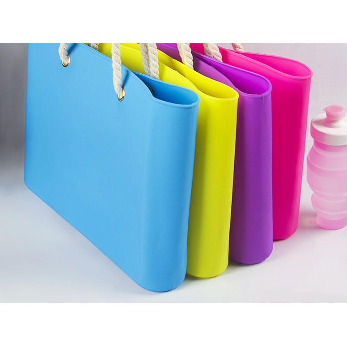 Mitour Silicone Products custom pvc handbag backpack for school-1