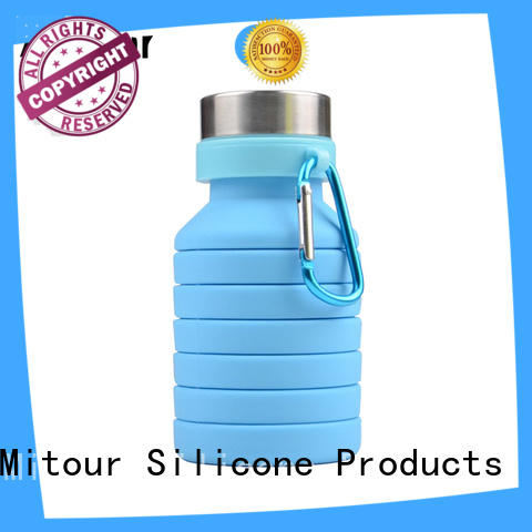 Mitour Silicone Products portable silicone hot water bottle supplier for water storage