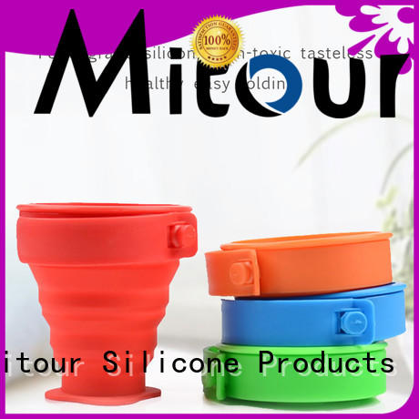 Mitour Silicone Products football fruit water bottle supplier for water storage