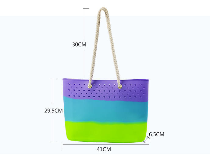 Mitour Silicone Products shoulder tote handbag backpack for boys-2