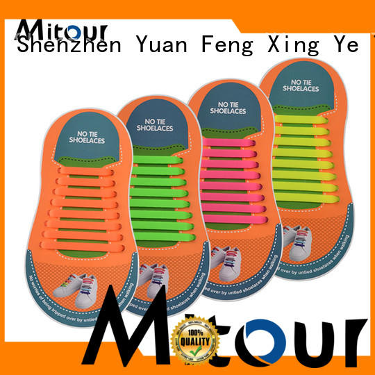 Mitour Silicone Products custom silicone no tie laces for shoes