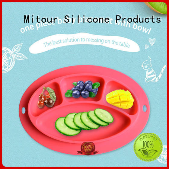 silicone silicone kids placemat placemat for baby Mitour Silicone Products
