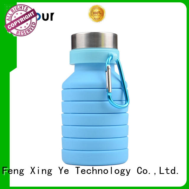 straight silicone bottle for children