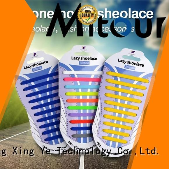 no tie silicone shoelaces silicone for shoes Mitour Silicone Products