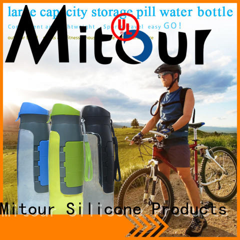 Mitour Silicone Products straight silicone bpa supplier for water storage