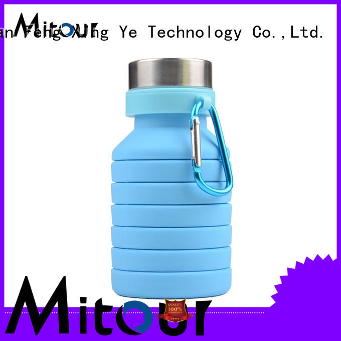 Mitour Silicone Products straight silicone travel bottles bulk production for children