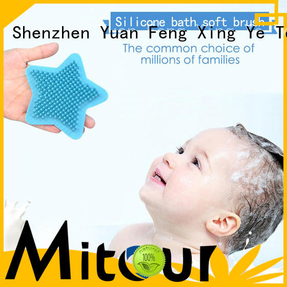 Mitour Silicone Products durable silicone pet brush functional for shower