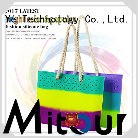 collapsible silicone bags custom handbag for trip