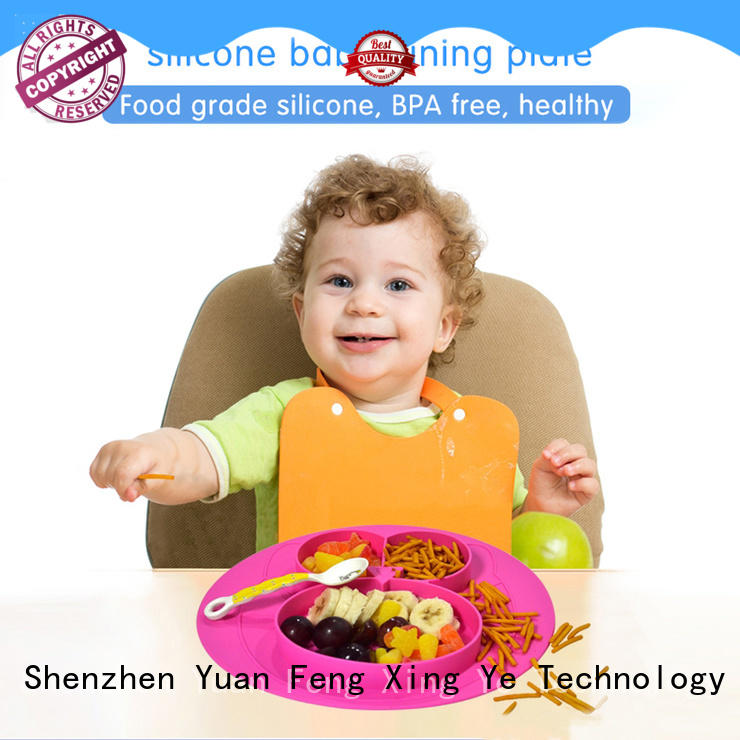 Mitour Silicone Products hot-sale baby plate silicone box for children