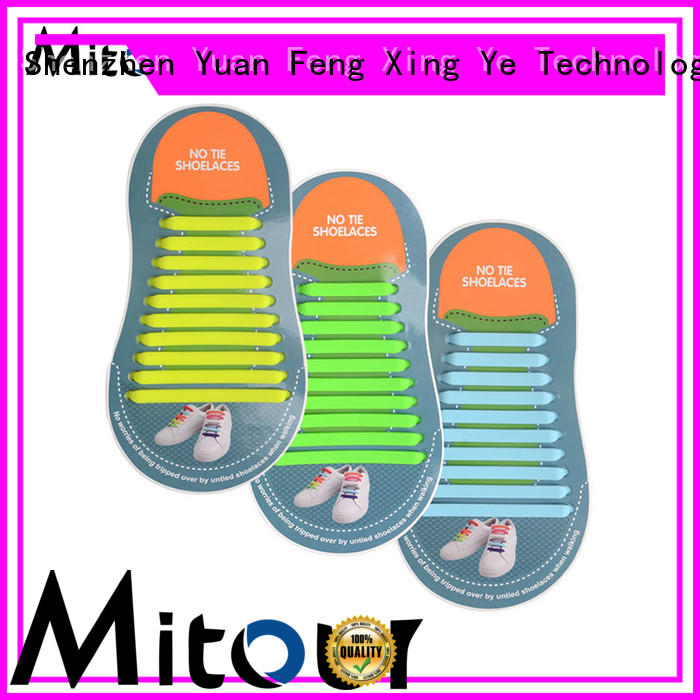lazy no tie shoelaces silicone for shoes Mitour Silicone Products
