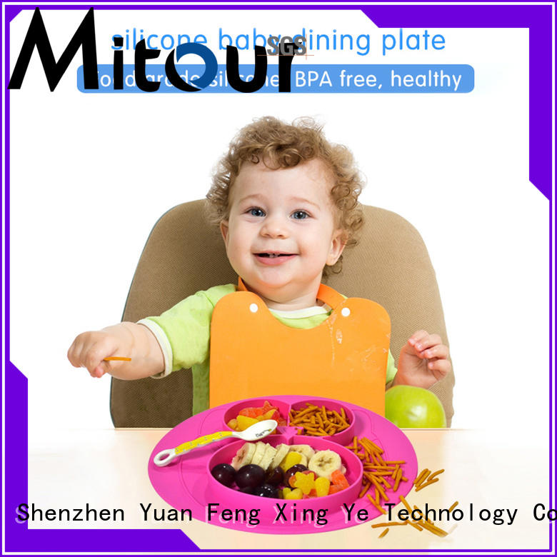 Mitour Silicone Products foldable silicone placemat silicone for children