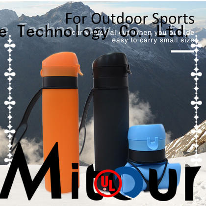 Mitour Silicone Products squeeze silicone collapsible bottle supplier for children