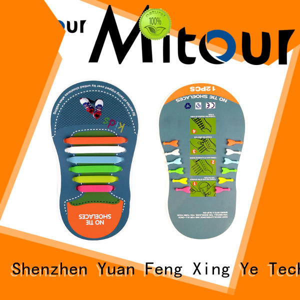 Mitour Silicone Products cool shoelaces Suppliers for child