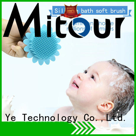 soft silicone brush order now for shower Mitour Silicone Products