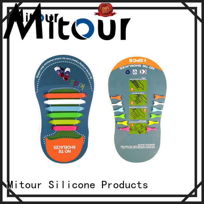 silicone no tie laces for child Mitour Silicone Products