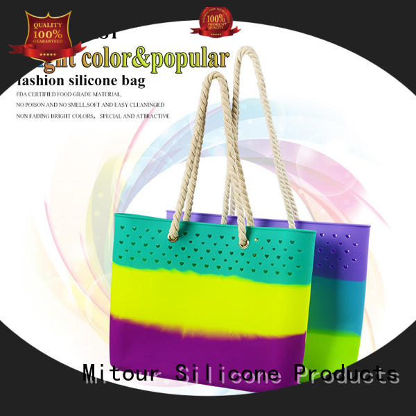 silicone silicone handbag backpack for travel Mitour Silicone Products