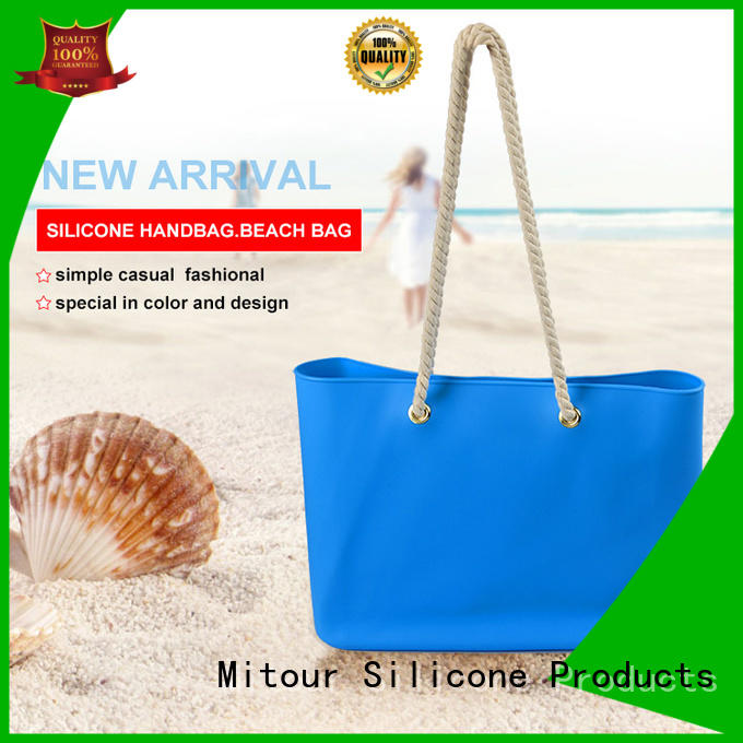 shoulder silicone travel bag factory for school Mitour Silicone Products