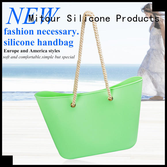 Mitour Silicone Products collapsible fresh bag tote for trip
