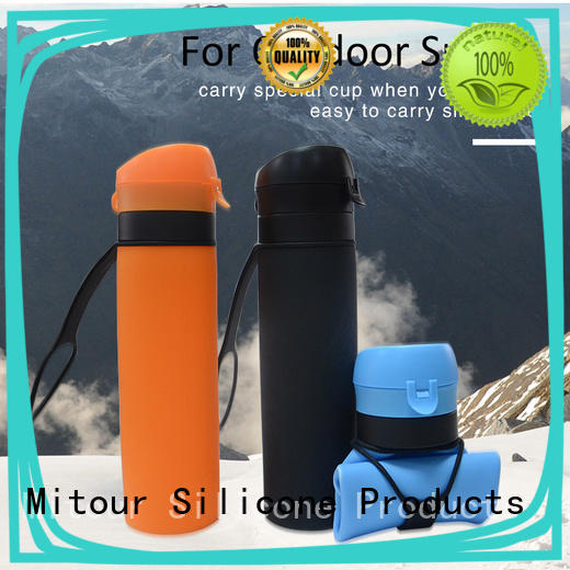 Mitour Silicone Products universal silicone sleeve bottle sports for water storage