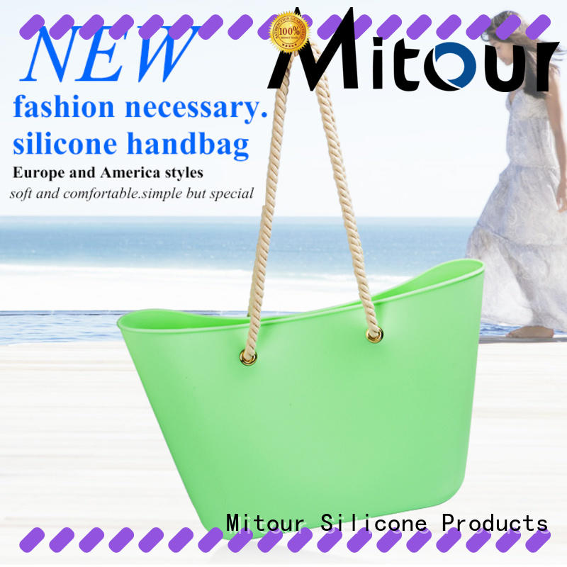 silicone tote handbag ODM backpack for school
