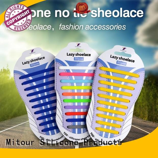elastic silicone shoelaces and laces Warranty Mitour Silicone Products
