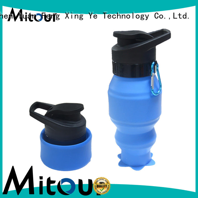 Wholesale football collapsible camping kettle outdoor Mitour Silicone Products Brand