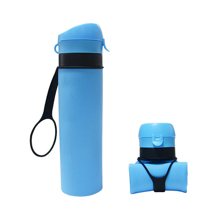 Mitour Silicone Products sports silicone collapsible bottle supplier for children-3