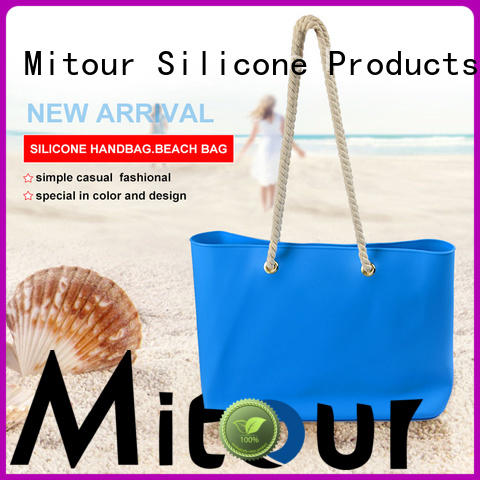 Mitour Silicone Products wholesale silicone handbag beach for school