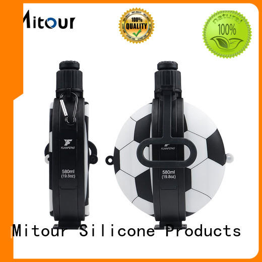 Mitour Silicone Products football water bottle silicone inquire now for water storage