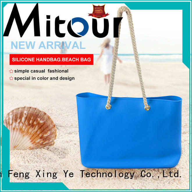Mitour Silicone Products OEM tote handbag backpack for girls
