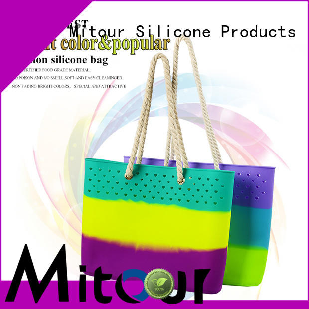 silicone pvc handbag OEM manufacturer for school