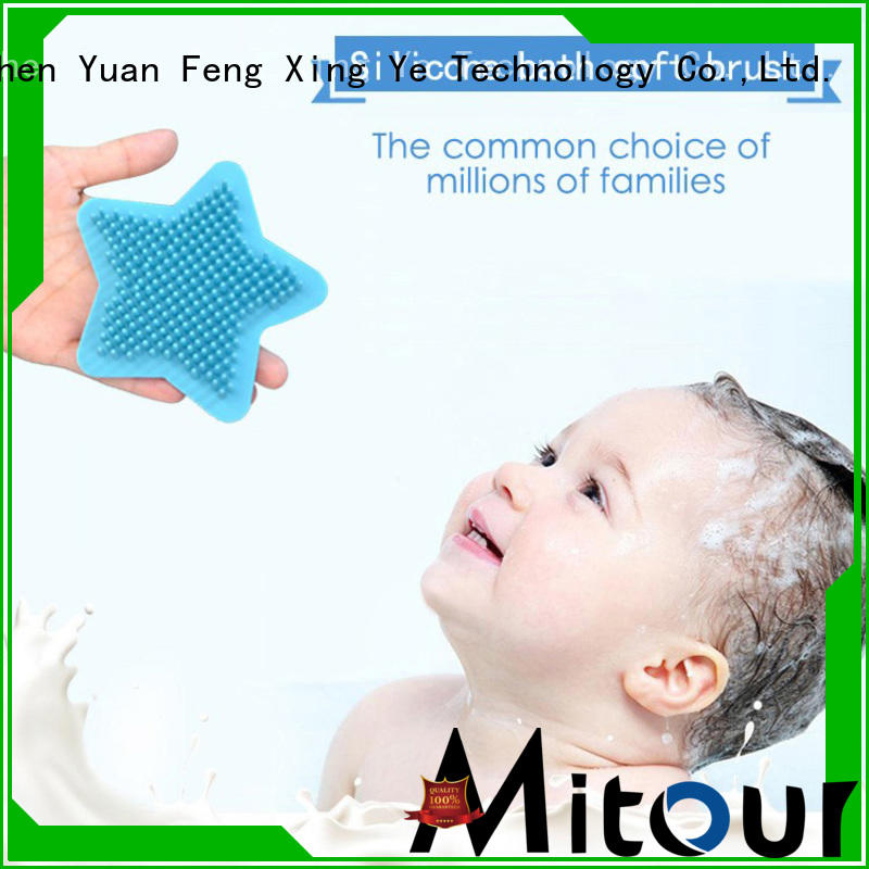 Mitour Silicone Products soft silicone brush order now for bath